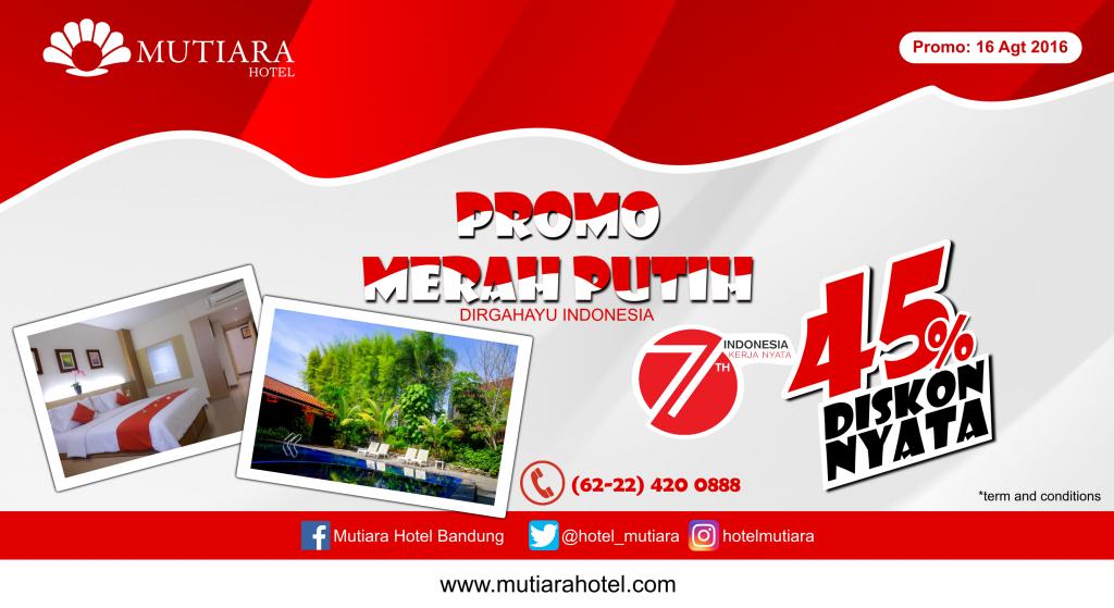 Mutiara Hotel Promo 17 Agt