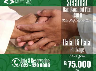 Halal bi Halal Package MTR